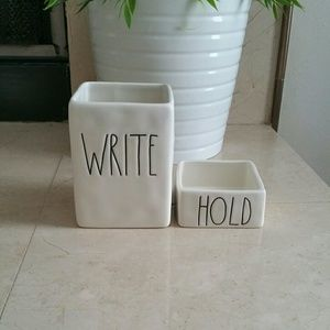 RAE DUNN WRITE AND HOLD